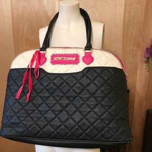 Betsey Johnson bag Purse outside pocket